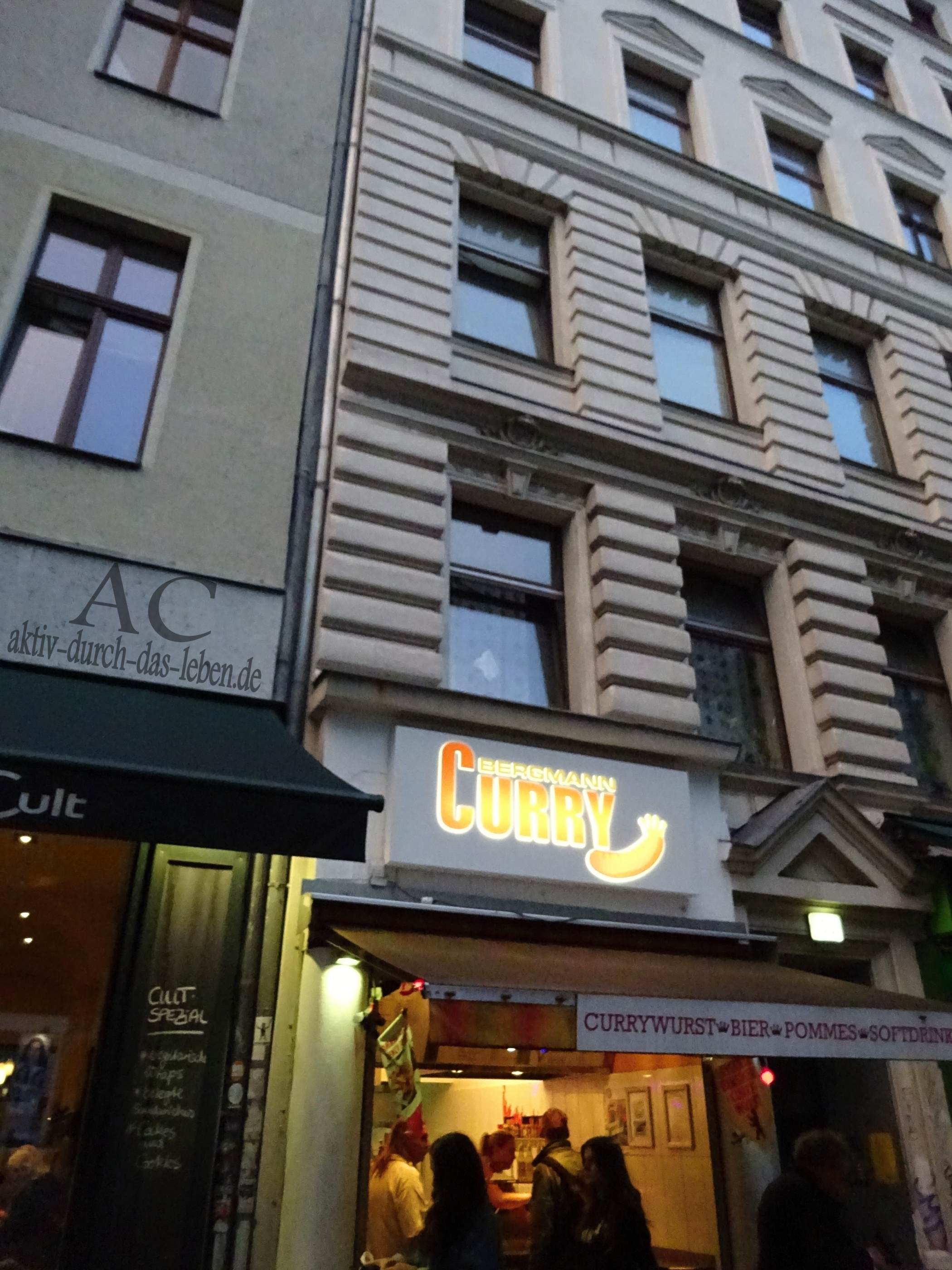 Bergmann Curry in Berlin Kreuzberg