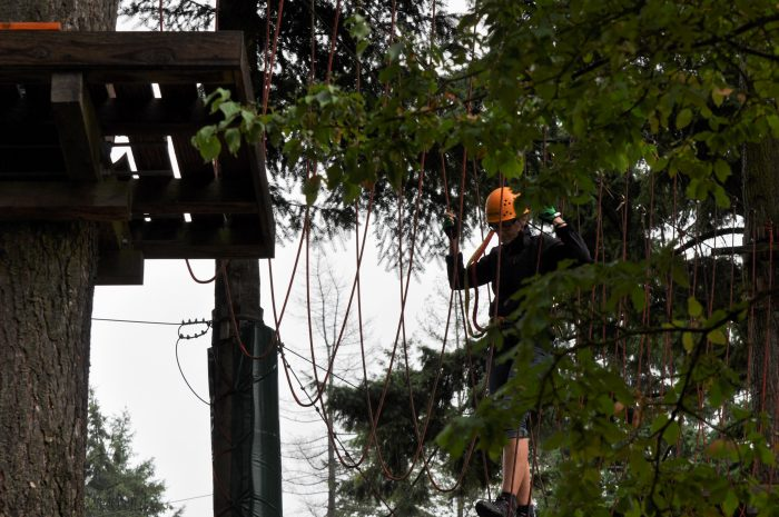 Mosel Adventure Forest Kletterwald IronMan-Parcours
