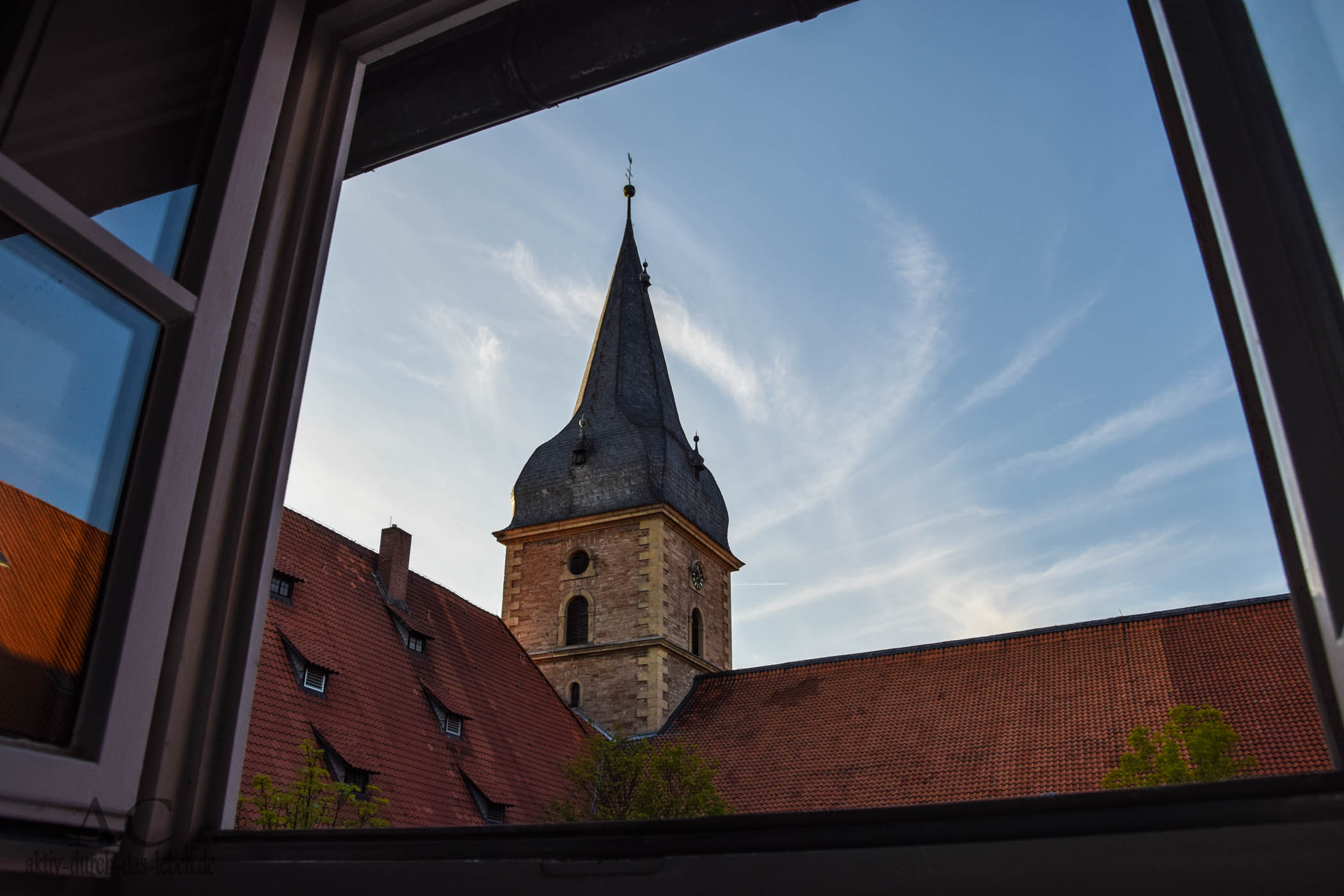 kloster w ltingerode blick aus dem fenster aktiv durch das. Black Bedroom Furniture Sets. Home Design Ideas