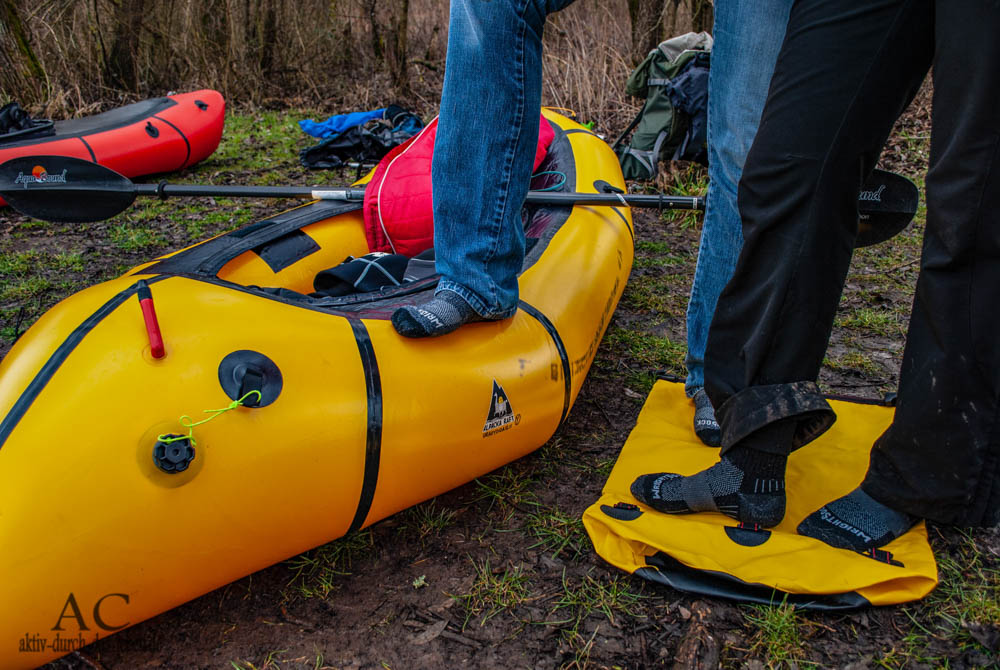 Packrafting Saar