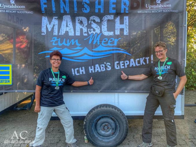 Marsch zum Meer Föhr 2019 Ziel