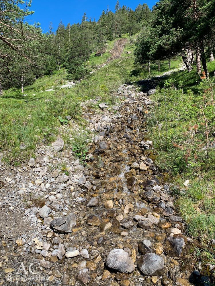 Lechweg Etappe 4 Elmen Elbigenalp