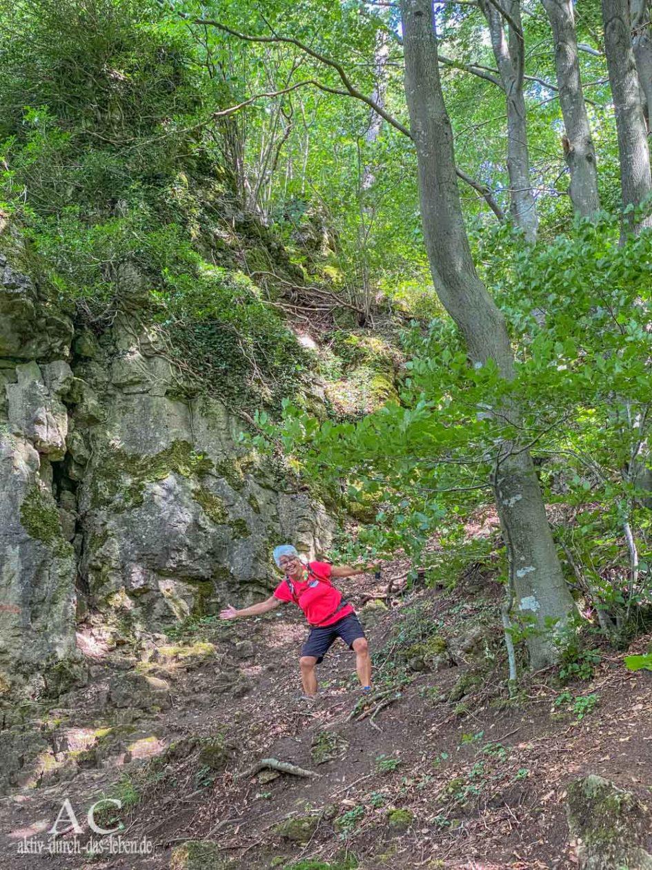 Wandern in der Vulkaneifel Gerolsteiner Felsenpfad